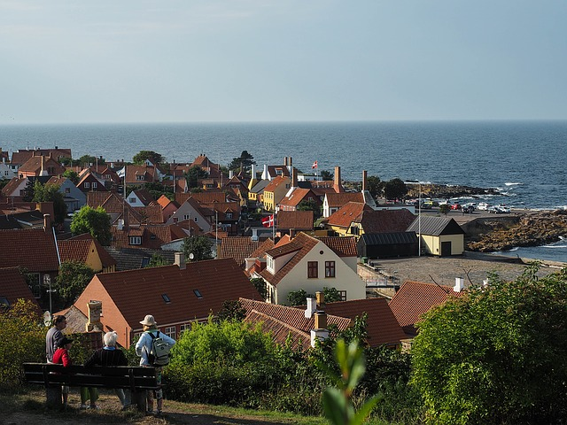 Denmark, Europe, Bornholm, View Point