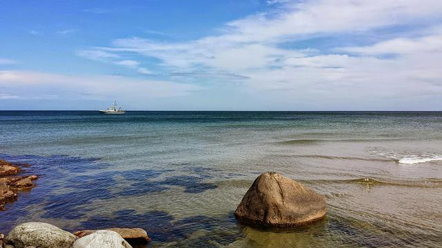 Bornholm, Sea, Water
