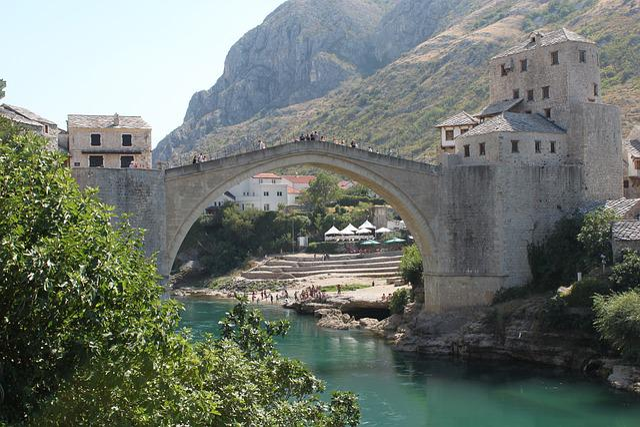 Mostar, Herzegovina, Bosnia, Tourism, Architecture
