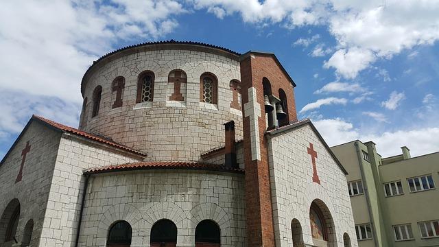 Church, Sarajevo, Bosnia, Herzegovina, Architecture