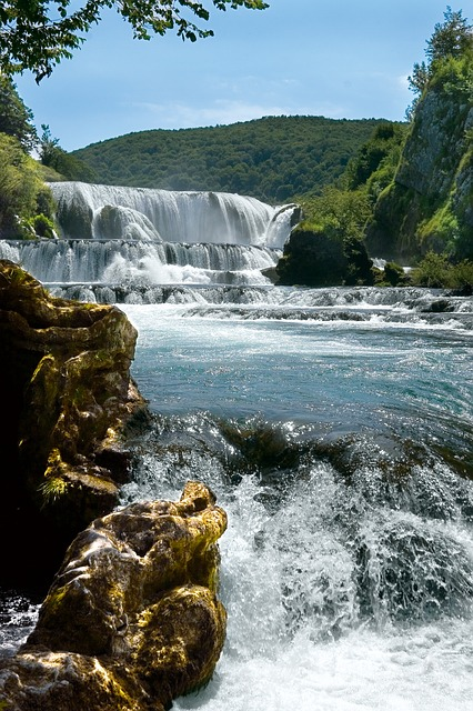 Una River, Waterfall, Bosnia