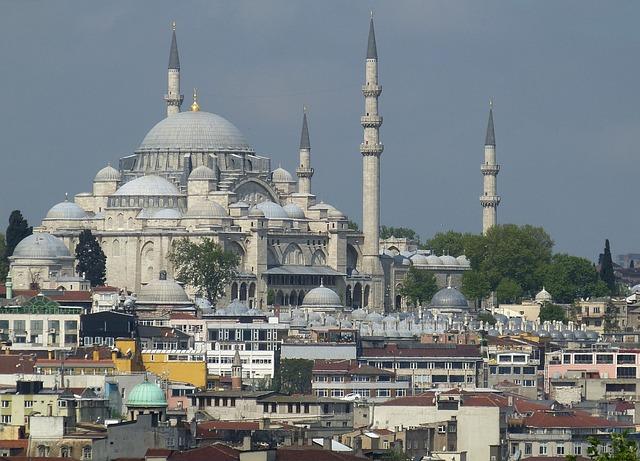 Istanbul, Turkey, Bosphorus, Mosque, Golden Horn