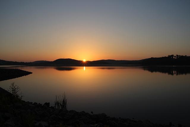 Summer Evening, Bostalsee Silence, Summer, Mood, Rest