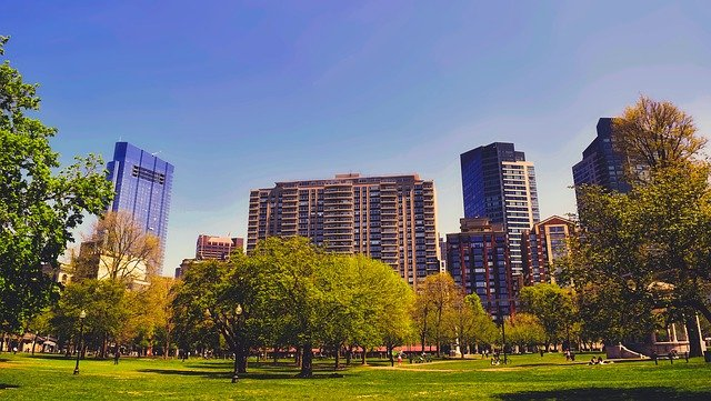 Boston, Massachusetts, City, Urban, Buildings