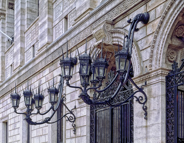 Boston Public Library, Architectural Detail, Facade