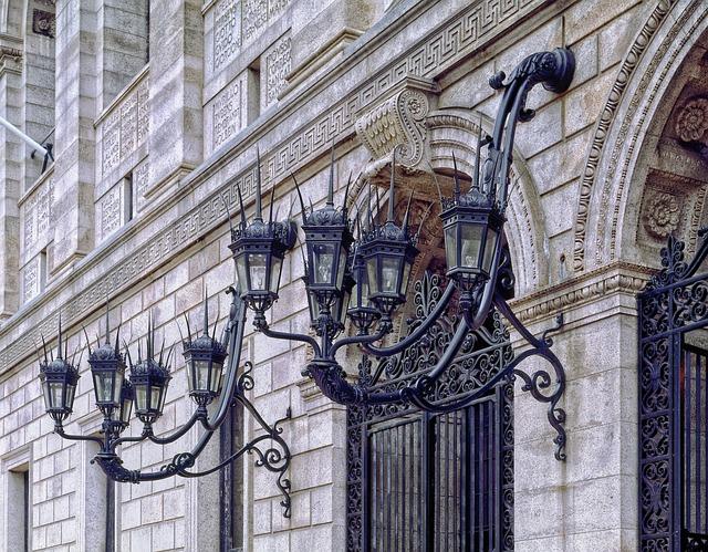 Boston Public Library, Architectural Detail, Facade