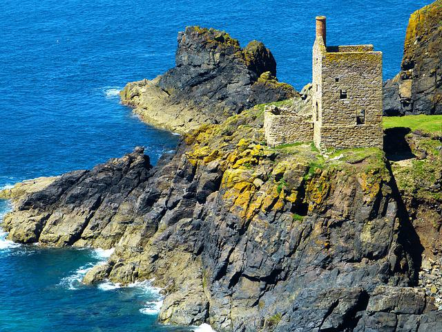 Engine House, Mine, Ruin, Decay, Old, Botallack Mine