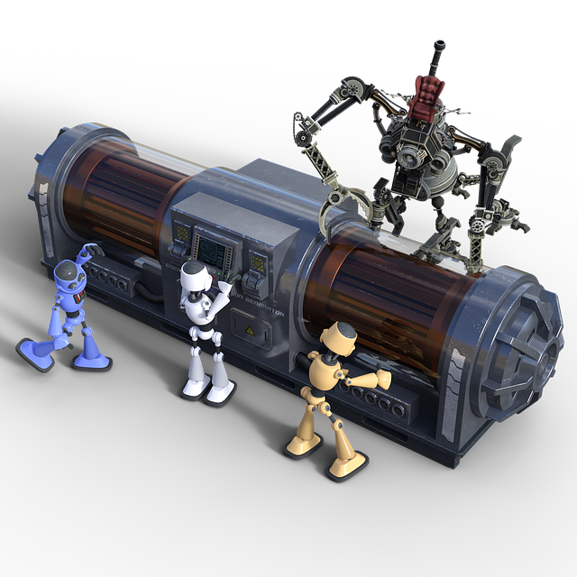 Bots, Robots, Generator, Helper, Work, Assembly