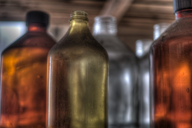 Bottle, Container, Drink, Glass, Abandoned, Chemical