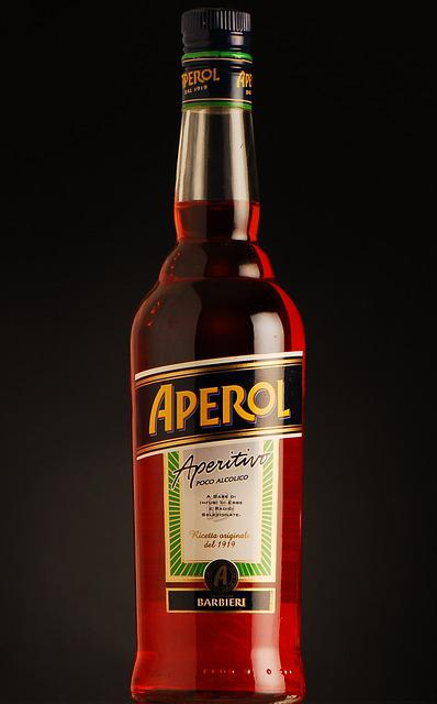 Aperol, Bottle, Alcohol, Spirits, Beverages
