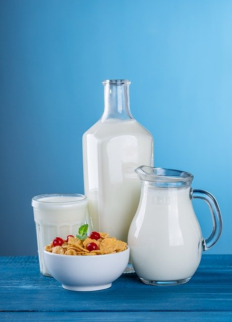 Cereal, Milk, Breakfast, Dairy, Pitcher, Bottle, Food