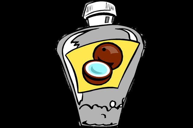 Coconut Oil, Oil, Coconut, Bottle, Vegetable Oil