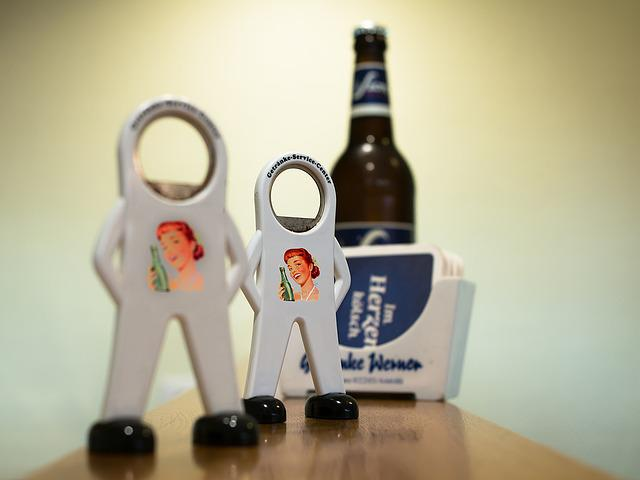 Bottle Opener, Bottle, Beer Coasters, Counter, Males