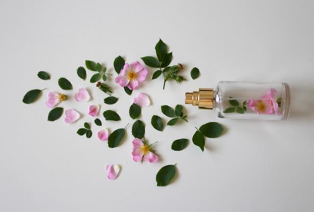 Scent Of Roses, Perfume, Rose, Bottle, Perfume Bottle