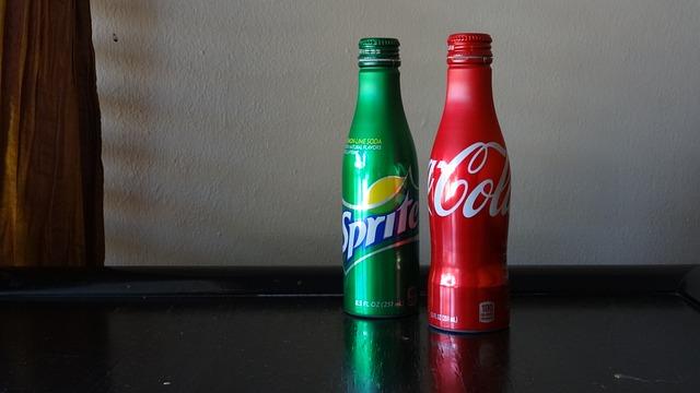 Soft Drink, Coca-cola, Sprite, Soda, Drink, Bottle
