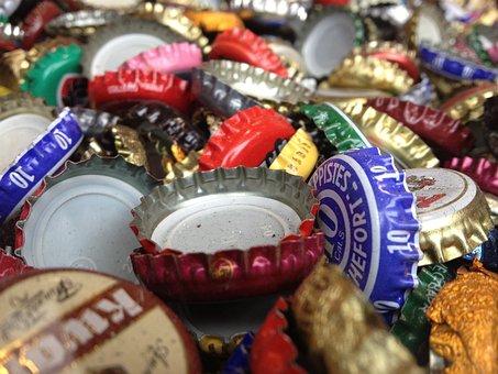 Veneers, Bottle, Bottle Caps, Color
