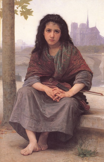 William, Adolf, Bouguereau, Bohemia, Art, Painting