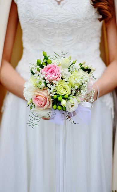 Bridal Bouquet, Bouquet, Wedding, Bride, Celebration