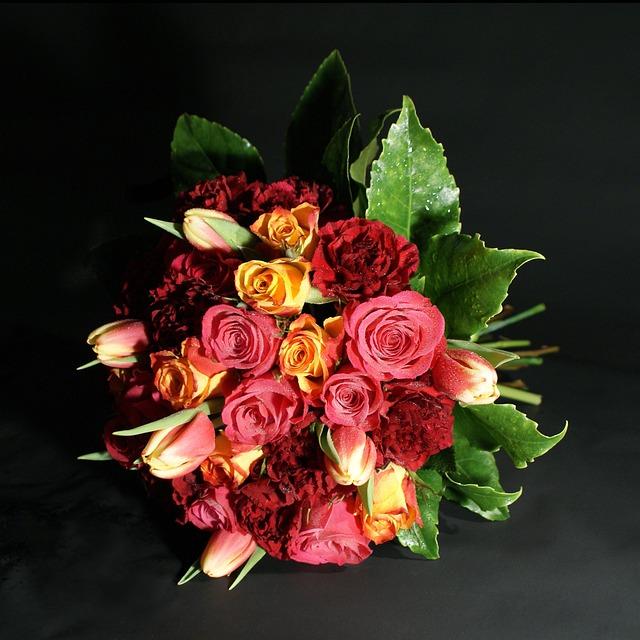 Bouquet, Flower, Rose, Floral, Decoration, Romantic
