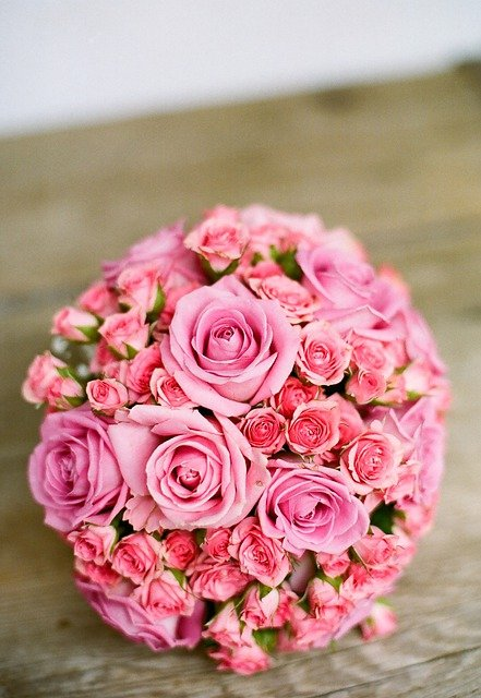 Bouquet, Roses, Flowers, Flower Arrangement