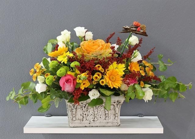 Vase, Flower, Bouquet, Nature, Arrangement