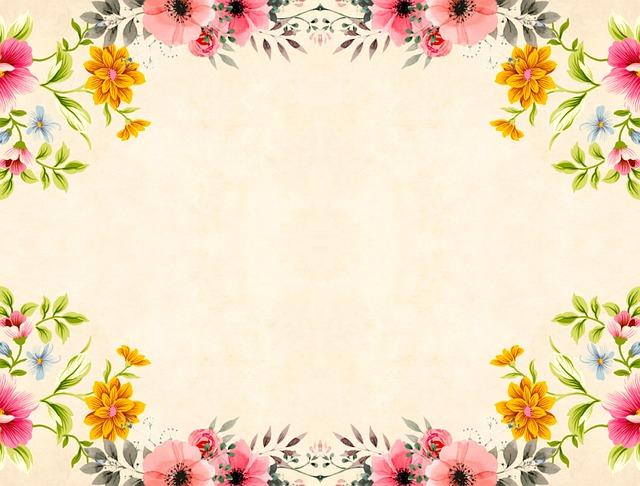 Flower, Background, Vintage, Roses, Bouquet, Floral