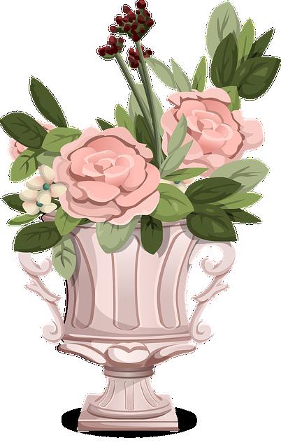 Bouquet, Flowers, Roses, Pink, Bloom, Blooming, Vase