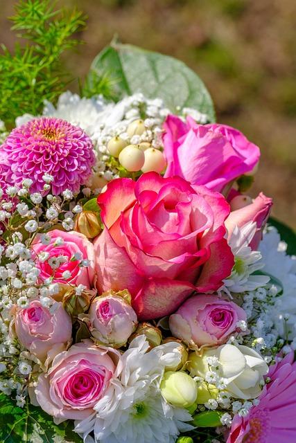 Rose, Bouquet Of Roses, Bouquet, Flowers