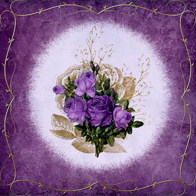 Frame, Bouquet, Ornament, Shabby, Chic