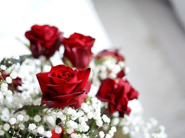 Flower, Rose, Bouquet, Wedding, Gift, Romance, Love