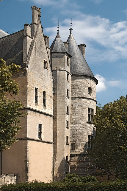 Bourges, Palais Jacques Heart, Heritage, Monument, Dear