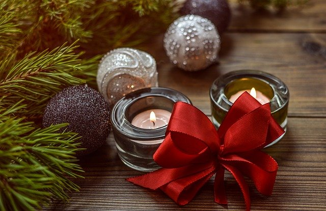 Christmas, Decoration, Bow, Christmas Ball, Baubles