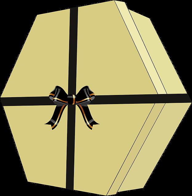 Bow, Decorative, Gift Box, Present, Ribbon