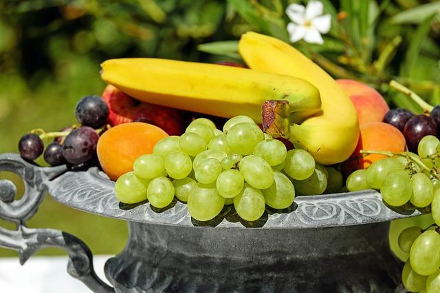 Fruits, Fresh, Bowl, Assorted, Assorted Fruits