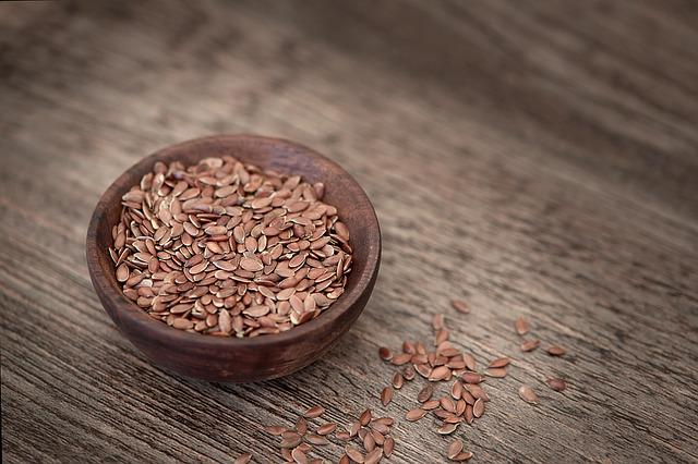 Flax Seed, Seeds, Eat, Healthy, Bowl, Food, Bowls