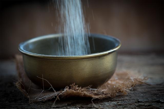 Bowl, Brass Bowl, Vessel, Semolina