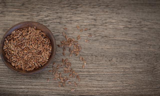 Flax Seed, Seeds, Eat, Healthy, Food, Bowls