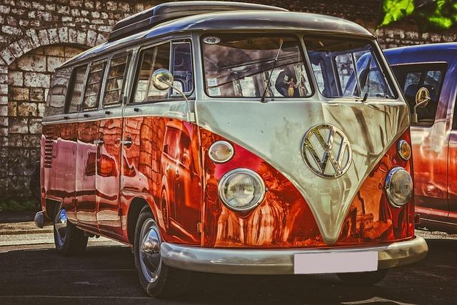 Vw, Auto, Box Car, Transporter, Oldtimer, Classic