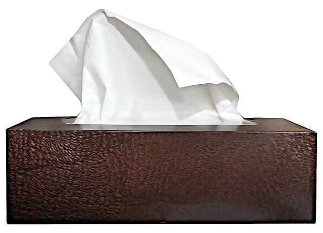 Handkerchief, Cold, Cry, Digital, Box