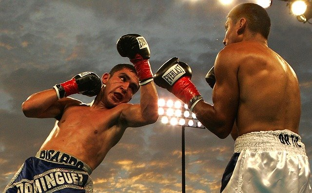 Box, Boxing Match, Uppercut, Ricardo Dominguez