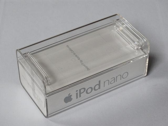 Box, Plastic, Ipod, White