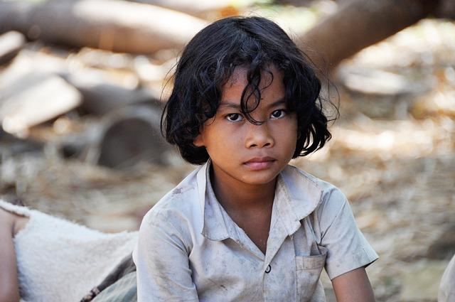 Child, Boy, Kambotscha