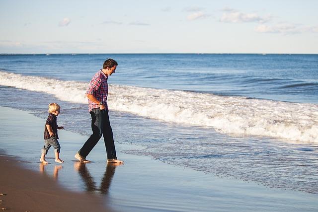 Beach, Boy, Kid, Man, Nature, Ocean, People, Sea