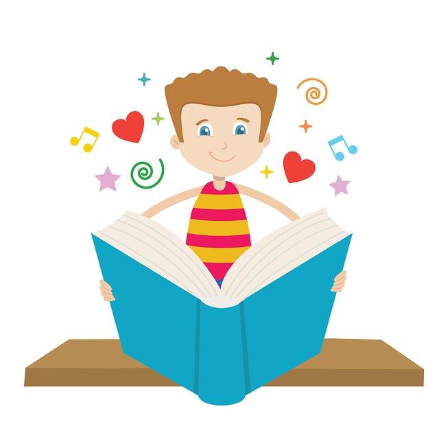 Read, Book, Boys, Education, Seat, As Children, School