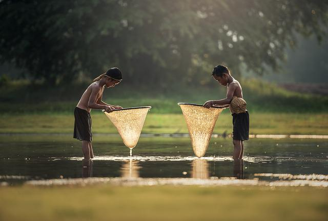 As Children, The Activity, Asia, Boys, Cambodia, Grips
