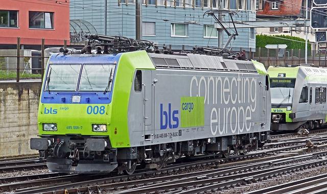 Electric Locomotive, Bls, Br485, Br 485