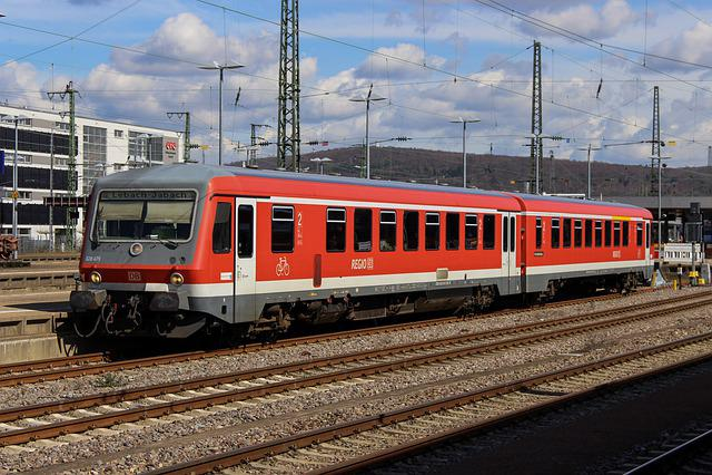 Dbag, Deutsche Bahn, Br628, Saarbrücken, Railway, Train