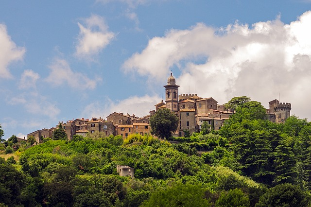 Bracciano, Rome, Italy, Landscape, Historic Village