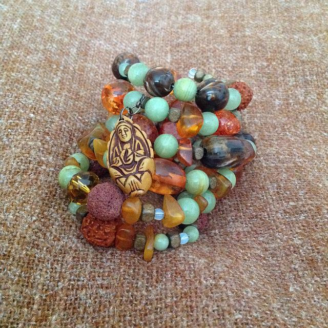 Bracelet, Boho, Sleeping Fairy