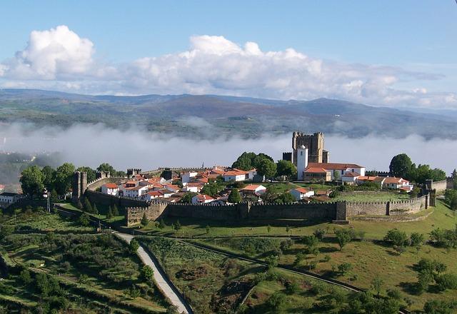 Portugal, Bragança, Ramparts, Tours, Wall, Medieval